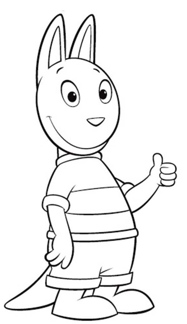 Austin Say Its Ok In The Backyardigans Coloring Page Kids Play Color In 2020 Coloring Pages For Kids Coloring Pages Mermaid Coloring Pages