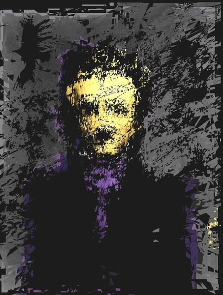 'Edgar Allan Poe' by brett66 on artflakes.com as poster or art print $16.63