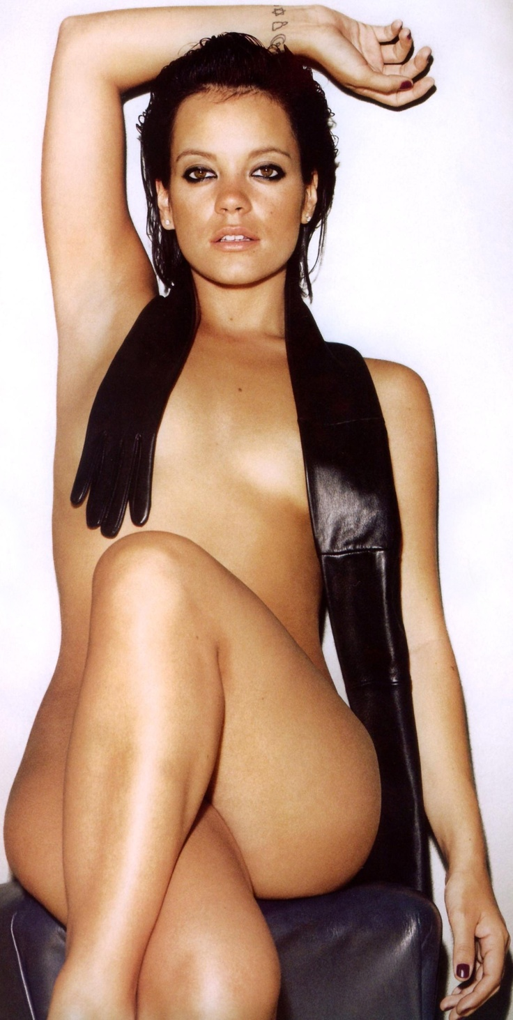 Lily Allen [GQ UK Magazine - October 2009]