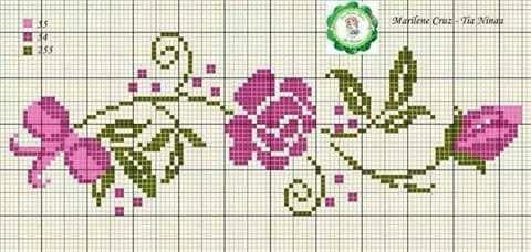 Guirlande aux roses 1