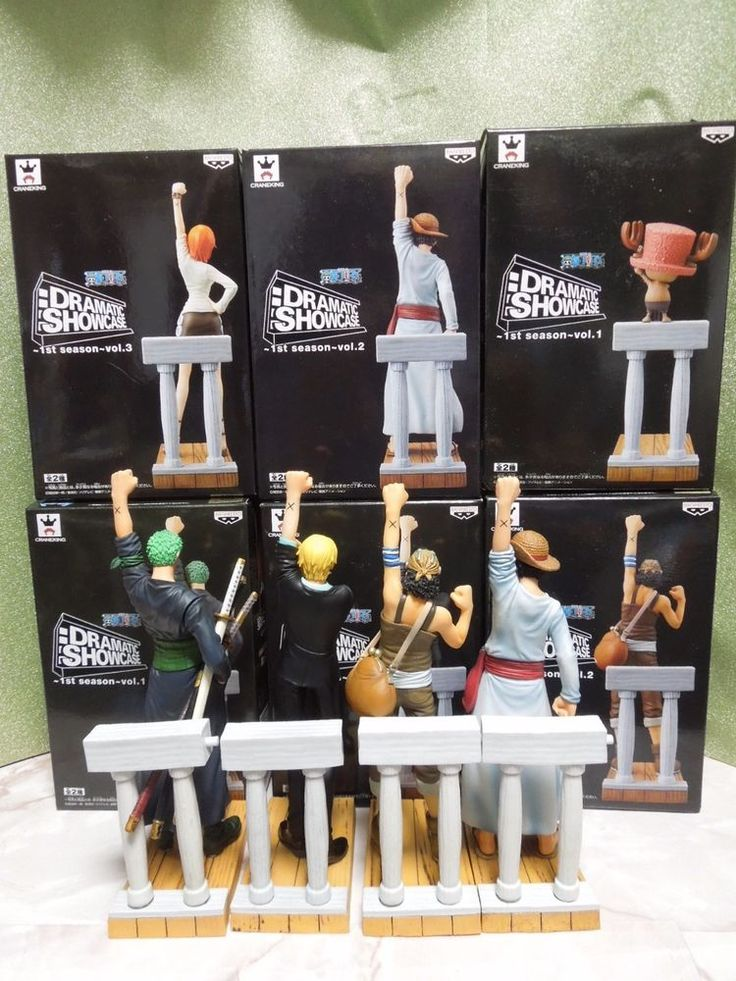 One Piece Dramatic Showcase Season 1 Figure 6pics Full Set from Japan