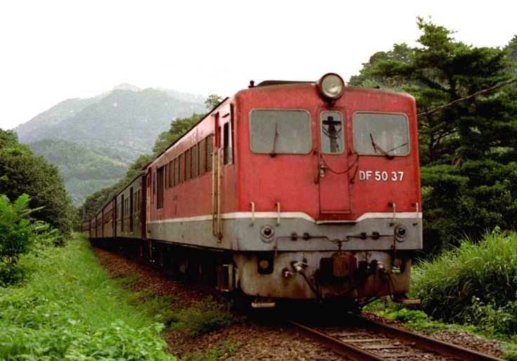 昭和50年代の鉄道写真 ぶんたの鉄道写真小屋 土讃本線 DF50
