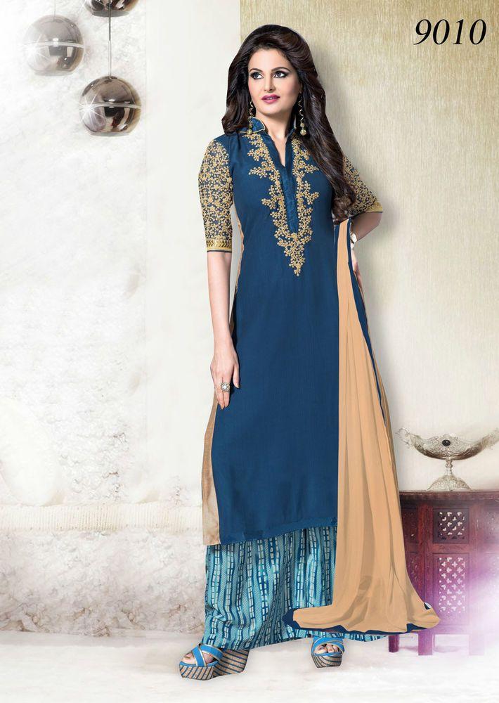 Designer Anarkali Indian Salwar Kameez Party Pakistani Wedding Suit Bollywood…
