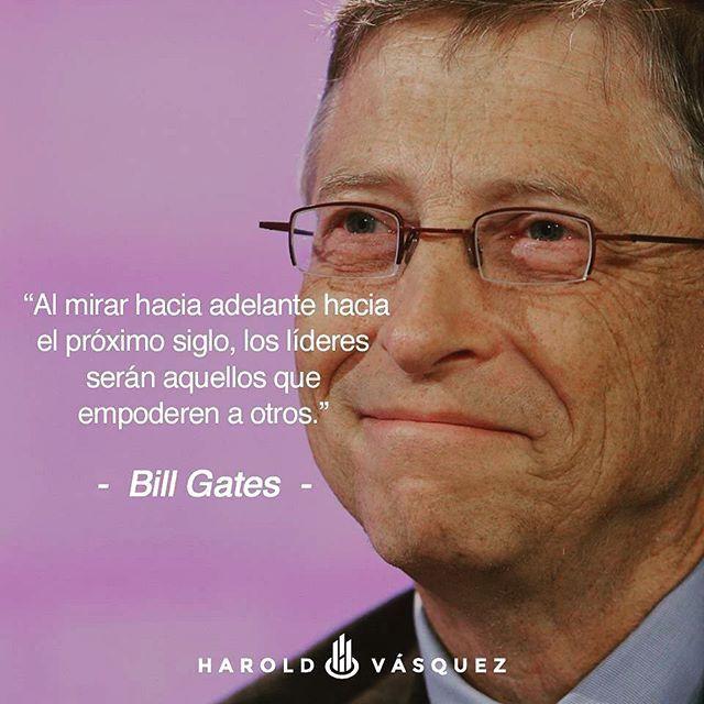 ¡Feliz fin de semana largo! #Emprendimiento ##BillGates #liderazgo #lider #empoderamiento #emprendedor