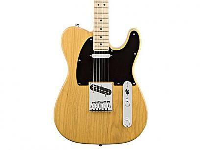 Guitarra Fender American Deluxe ASH - 26 - Natural com as melhores condições você encontra no Magazine Offmix. Confira!