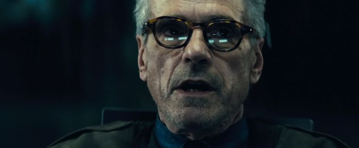 Old Focals glasses worn by Jeremy Irons  in BATMAN V SUPERMAN: DAWN OF JUSTICE (2016) #OldFocals