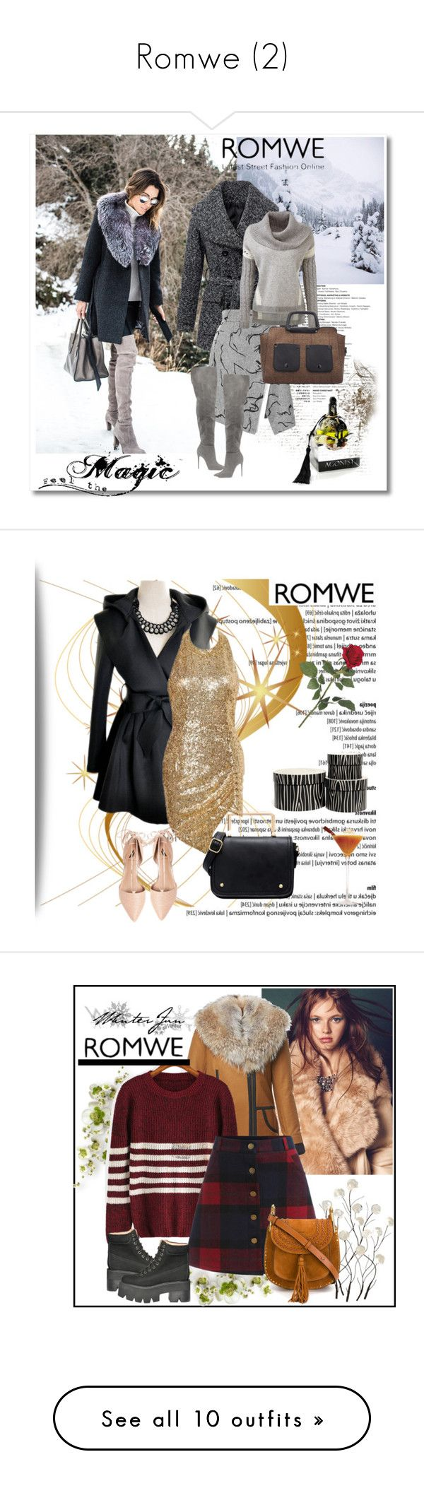 """""""Romwe (2)"""" by aida-1999 ❤ liked on Polyvore featuring women's clothing, women's fashion, women, female, woman, misses, juniors, Ava & Aiden, H&M and Avery"""