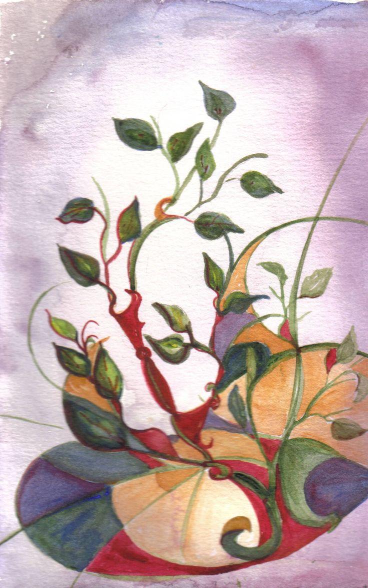 leaves by Arlyn