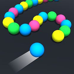 Snake Ball's is a fun arcade game where you match 3 ball's of the same color to make them explode. Once the snake ball path has been completed it is the end of the game. Explode as many ball's as you ...