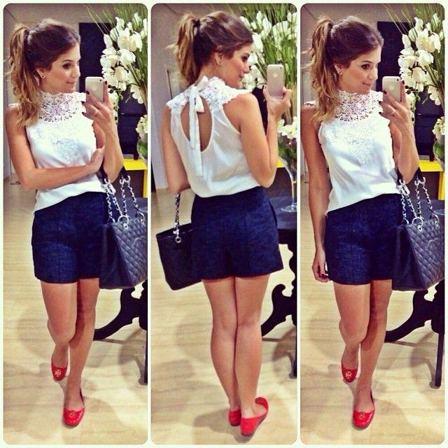 Basiquinho do dia #lookdodia #lookoftheday #lace #renda #ootd #blogtrendalert