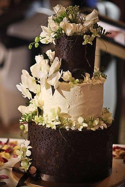 Wedding Cake at Welsh Lady Cake Shop (Brisbane, Australia). #weddingcake #cake
