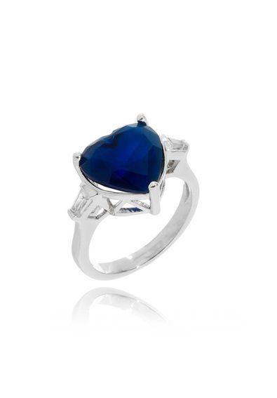 65e845238db64 Anel-de-coracao-pedra-azul-safira-leitosa-semi-joia-fina---20   Anéis Joias  e Semi Joias Waufen   Pinterest   Anéis de coração, Pedra azul e Semi joias
