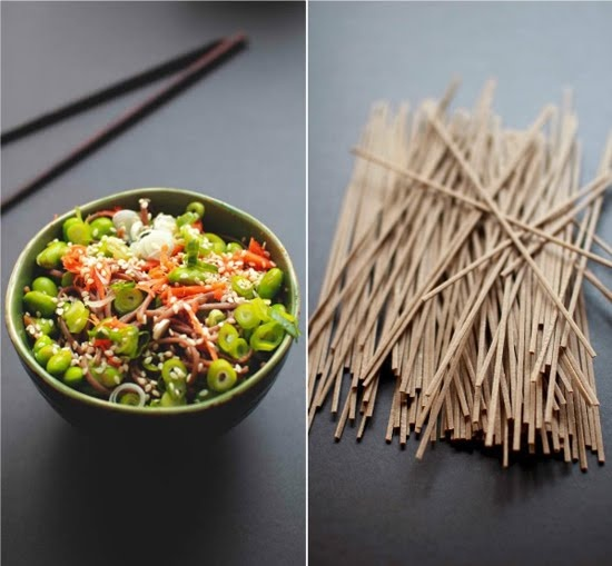 Soba Noodle Salad with Edamame | The Flourishing Foodie