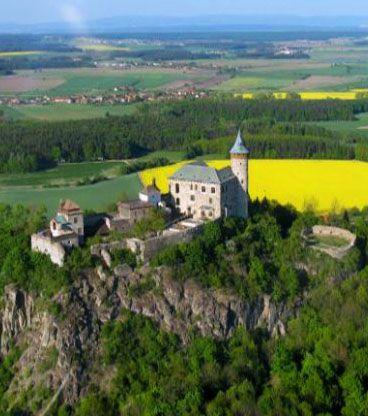 Kunětická Hora castle (East Bohemia), Czechia