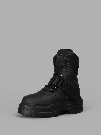 FENTY X PUMA FENTY X PUMA WOMEN S BLACK NUBUCK WNS WINTER BOOTS.  fentyxpuma   shoes   b384205e8