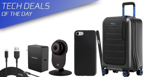 Tech Deals: Ultra-Slim iPhone 7 Leather Case, $29 Security Cam, $13 Extra-Long Lightning Cable, More