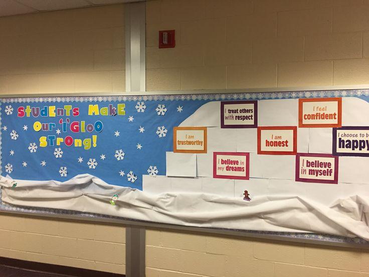 Winter guidance bulletin board