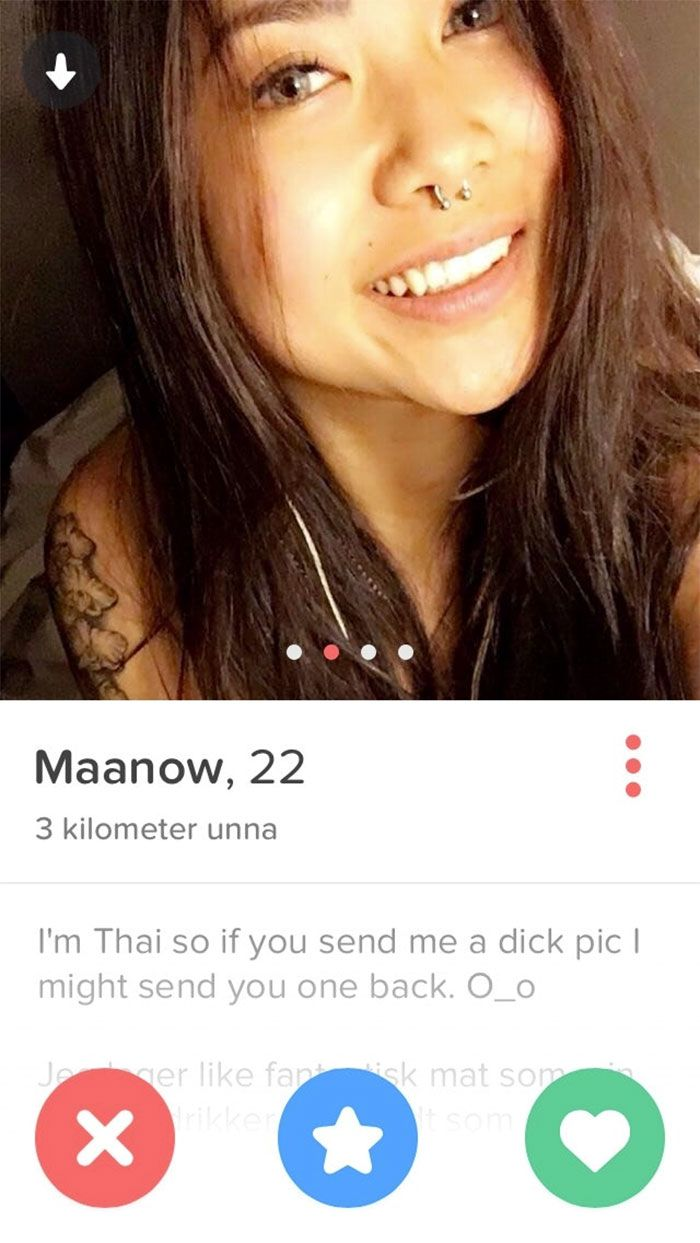 Funny dating site bios