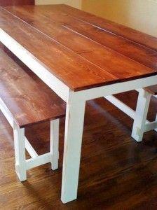 Farmhouse Table, Part 1