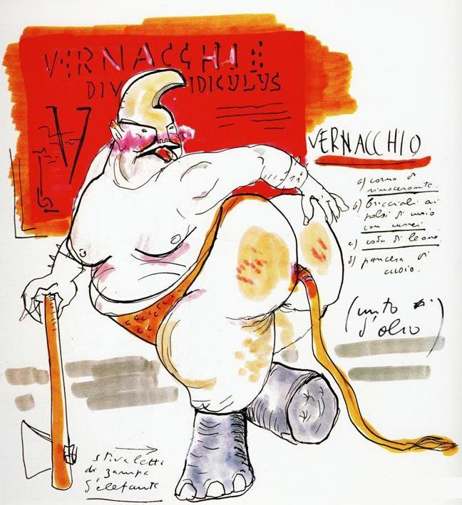1969 - Satyricon - Vernacchio   Fondazione Federico Fellini