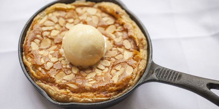 A recipe by chef Mark Hix for the classic British dessert, Bakewell Pudding.