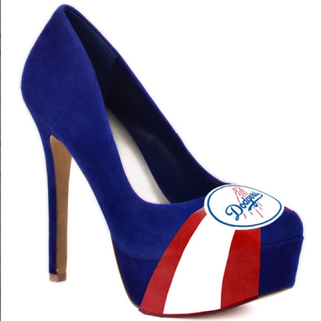 OMG - Dodger Stilettos, what will they think of next?