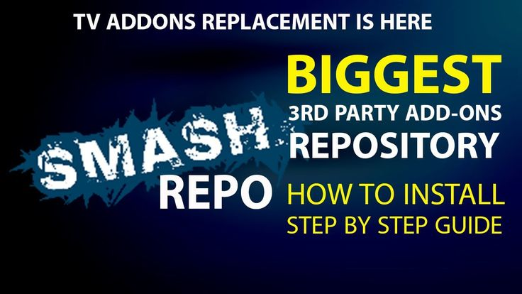 BIGGEST 3rd Party Add-ons Repo is Here - Smash Repo For Latest Kodi