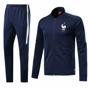 2018 Jacket Uniform France Navy Replica Football Suit [BFC640]