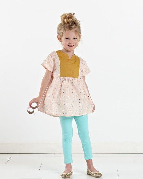 Digital Hide-and-seek Dress + Tunic Sewing Pattern | Shop | Oliver + S