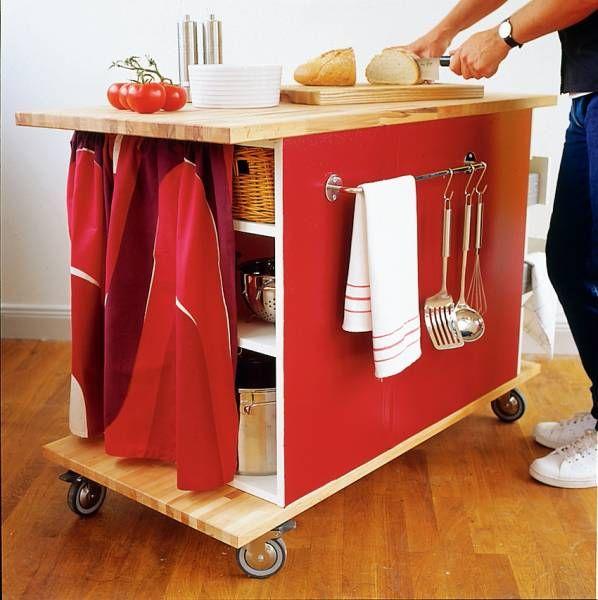 gör en köksö av två hurtsar - idé från gamla sköna hem