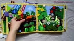 Resultado de imagem para Quiet book 6. Розвиваюча книжечка;