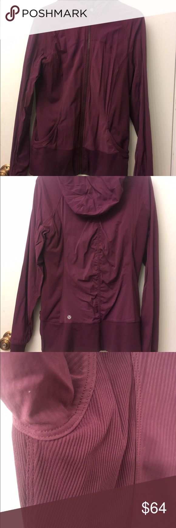 50% off retail! Lululemon In Flux Jacket sz 10 Comfortable and reversible! Throw it over a tank top after a workout or pair it with leggings or jeans to run errands around town. Nice jacket, worn once, no tears, stains, snags or pilling. Smoke free home. lululemon athletica Jackets & Coats
