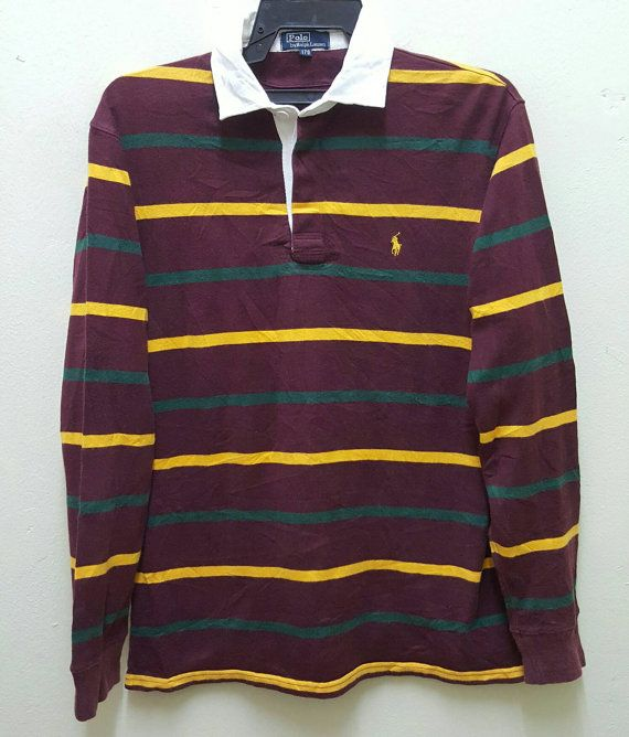 On Sale 10% Off Polo Ralph Lauren Vintage 90s Rare Polo Rugby