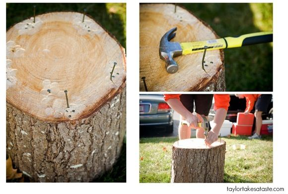 Stump-hammer-nail-game