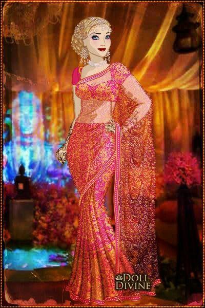 Beautiful Barbie Indian Wedding Dress Up Games Overlay Wedding Dre u