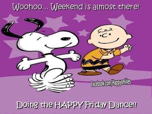 Charlie Brown & Snoopy, The Friday Happy Dance