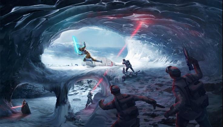 Star Wars Battlefront Art