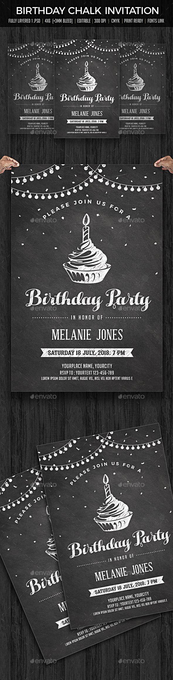 7 best Birthday Invitation Templates images – Buy Birthday Invitations