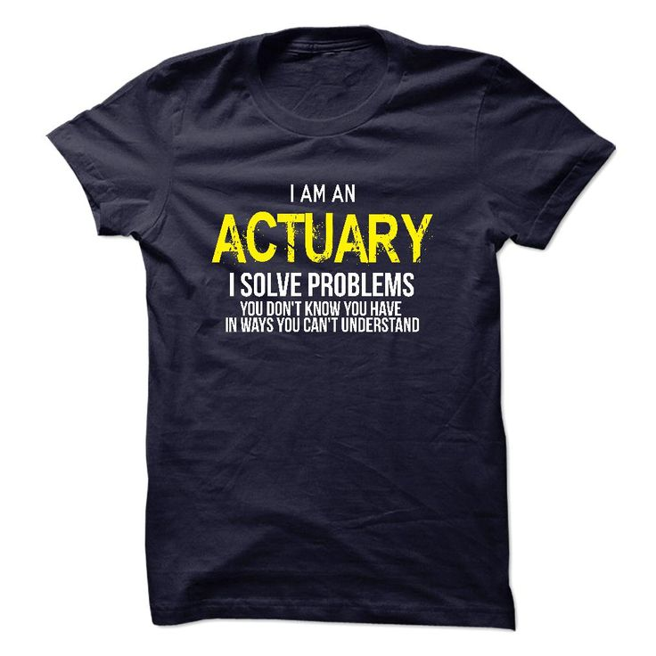 I am № an ActuaryIf you are an Actuary. This shirt is a MUST HAVEI am an Actuary