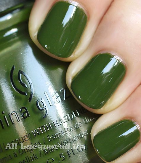 How To Make Olive Green Nail Polish: 24 Best Paint My Nails Pretty Images On Pinterest