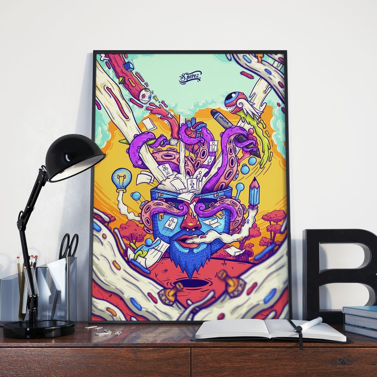 "Check out my @Behance project: ""Poster ""EXPLOSIÓN CEREBRAL"""" https://www.behance.net/gallery/45681029/Poster-EXPLOSION-CEREBRAL"