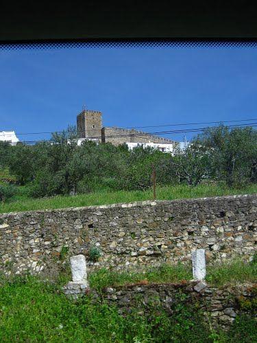 Imagen De Segura De León Y Su Castillo.