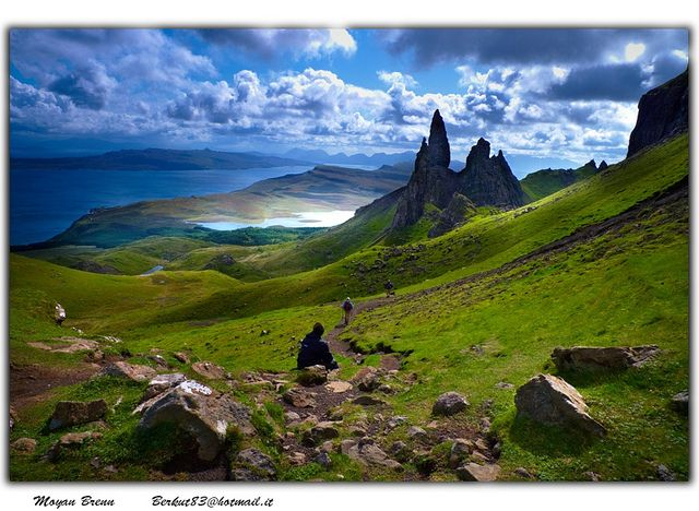 Isle of Skye, Scotland. Did not make it there on our last vacation, will plan to visit when we make it back.
