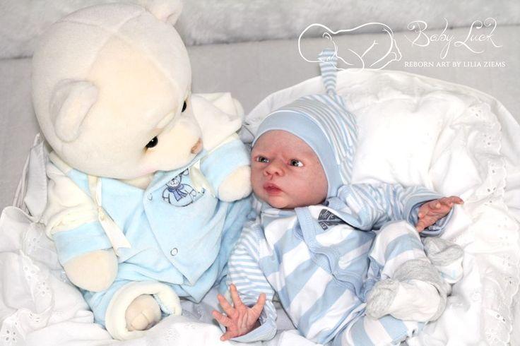 Prototype Kailyn by Petra Lechner*now sweet little boy*rebornart by Lilia Ziems #Unbranded