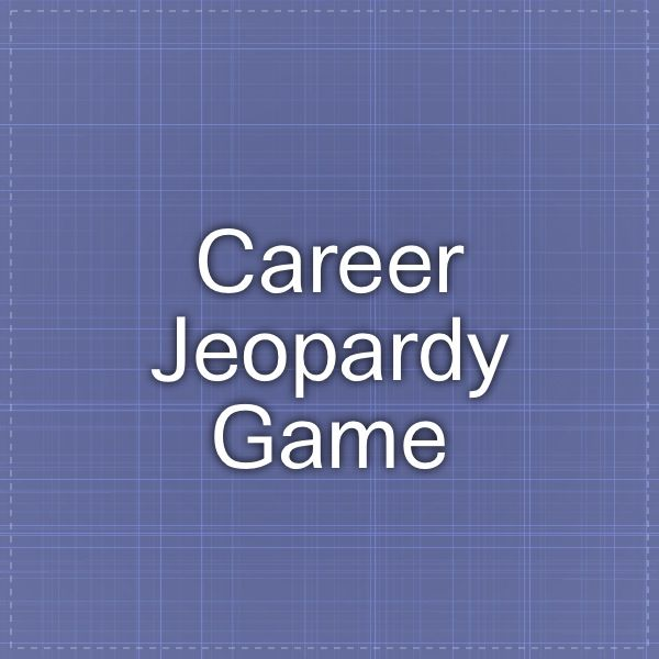 Career Jeopardy Game