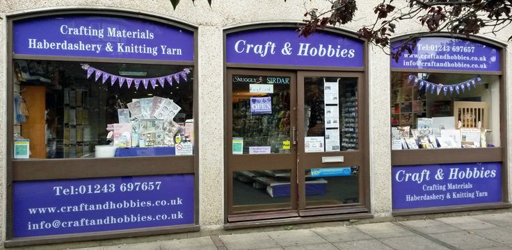 Craft & Hobbies Shop Front September 2015