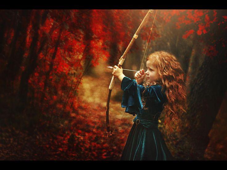 Disney Brave Merida inspired children's photography