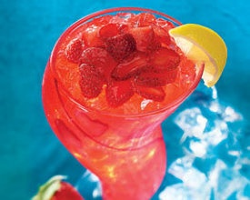 Freckled Lemonade!!  I would love one of these right now!
