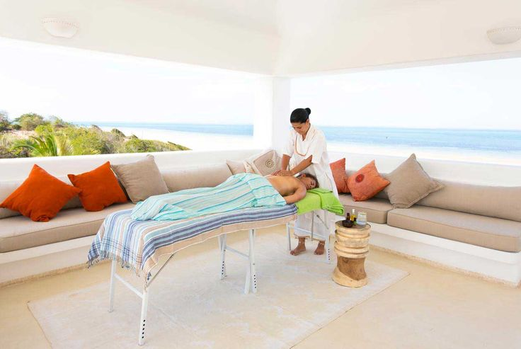 This is the life. A spa treatment in your Villa