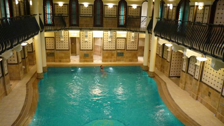 The Corinthia Hotel Budapest swimming pool and spa
